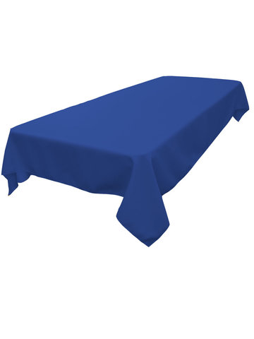 Rectangle Tablecloth (Polyester/Royal Blue)