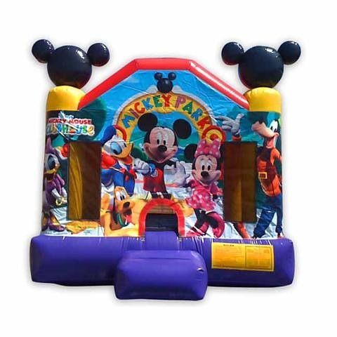 Mickey Mouse Jumper Bounce House rental in Los Angeles