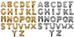 14in Mylar Letters (Gold or Silver)