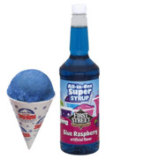 Extra Snow Cone Syrup BLUE RASPBERRY