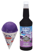 Extra Snow Cone Syrup GRAPE PURPLE