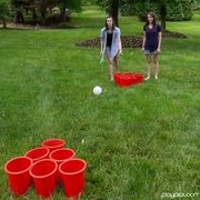 Giant Beer Pong Game