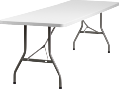 6ft Long Table