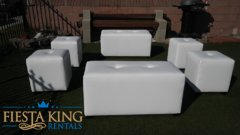 Lounge Furniture Set of Ottomans
