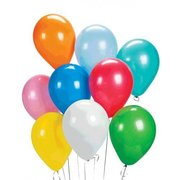 Dozen of Plain Latex Balloon (Helium)