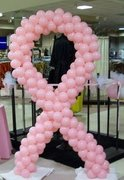 Breast Cancer Ribbon (6' Tall)