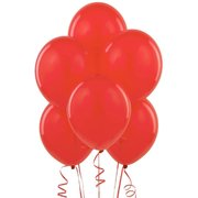 Red Latex Balloons (w/Helium)