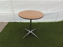 "30"" Short Round Cocktail Table (30"" tall)"