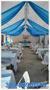 20'x40' Canopy w/Side by Side Draping