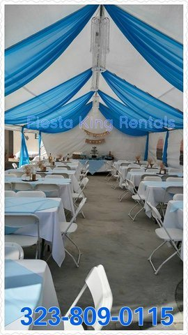 20'x20' Canopy w/side by side Draping