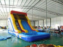 22ft Hollow waterslide with pool