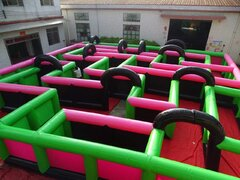 Huge 30x30 Inflatable Maze