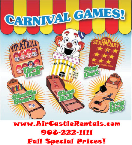 Carnival Game package $535.