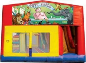 Themed Happy Bday Animals 5 M 5in1 Combo Classic