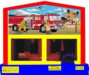 Themed Fire Truck Rescue 5in1 Combo WITH TUNNEL
