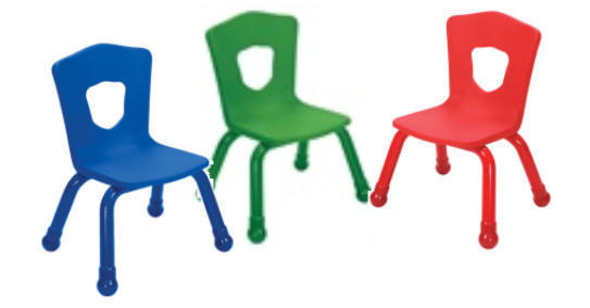 Chair preschool upgraded Shield chair color may vary