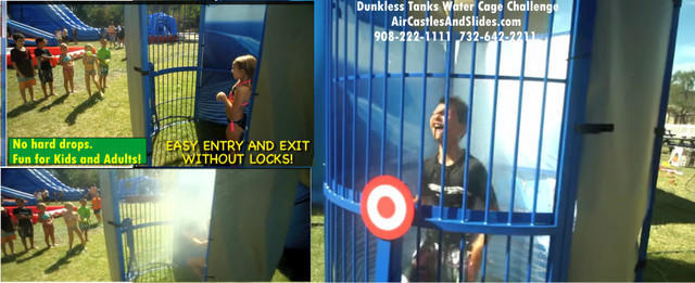 Dunkless Dunk Tank Water Cage Challenge Manual . Call the office before booking this item.