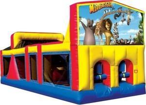 Themed Madagascar animals Obstacle Course 33