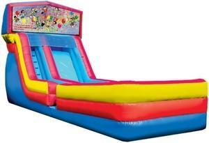 Themed Lets Party Slide