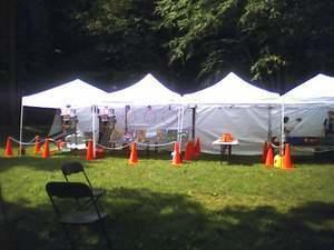 Canopy tent for Games or Food white