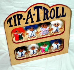 Tip A Troll with very soft ball