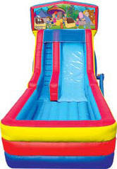 Themed Carnival Party Slide