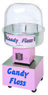 Cotton Candy Machine rental package with supplies (#servings varies by serving size). Normal price $110.