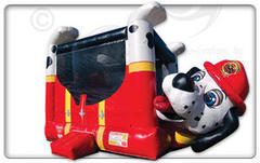 Belly Bouncer Fire Dog   Buy or Rent it Today!