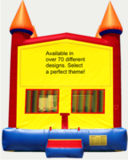 Castle Themed 13x13 Select from 100 available themes for the front of your inflatable! New low Price!