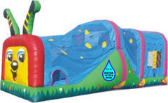 Caterpillar Combo 3in1 Jump Climb wet - dry Slide