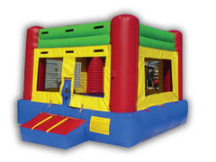 Color Club House Indoor Bouncer
