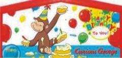 Themed Happy Birthday Curious George 4in1 Combo LARGE