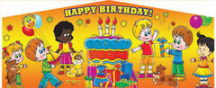 Themed Happy Birthday kids 3 5in1 Combo Classic