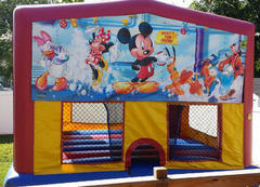 Themed Disney Mickey Mouse Jump15x15