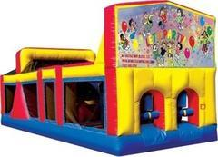 Themed Lets Party Obstacle Course 33