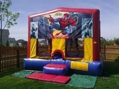 Themed Spider Man Jump15x15