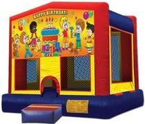 Themed Happy Birthday kids 3 Jump15x15