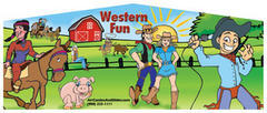 Themed Western Fun Cowboys Obstacle Course 33