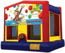 Themed Happy Birthday Curious George Jump15x15