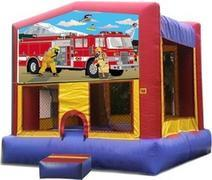 Themed Fire truck rescue Jump