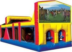 Themed Horses Obstacle Course 33
