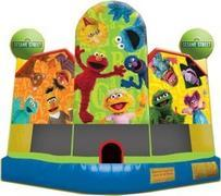 Sesame Street Club with basketball hoop inside FOR SALE Buy it Today!