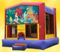 Themed Disney Little Mermaid Jump15x15