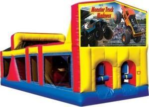 Themed Monster Truck Madness Obstacle Course 33