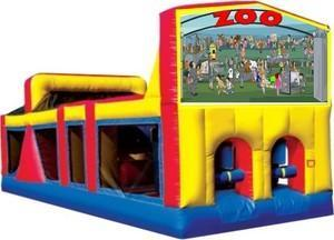 Themed Zoo Obstacle Course 33