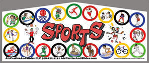 Themed Sports Kids Play M/L Jump15x15