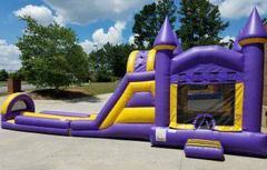 The Fun House Combination Jump, Climb & Slide with Slip and Slide