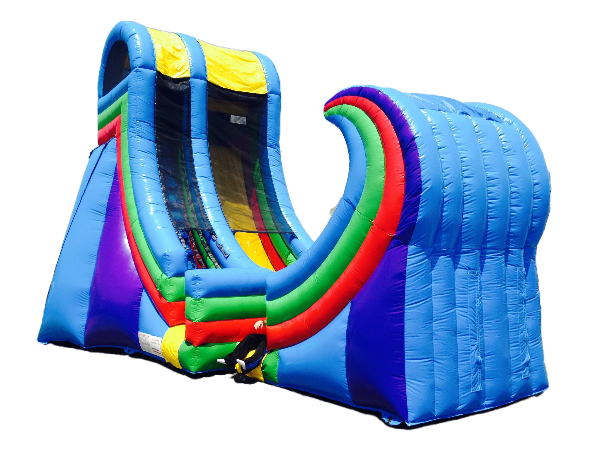 The Rampage Wet Slide