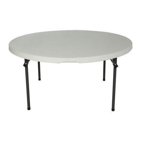 Table- Round 60'' Plastic Resin