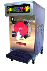 Single Barrel Slush Machine